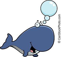 Talking Cartoon Whale