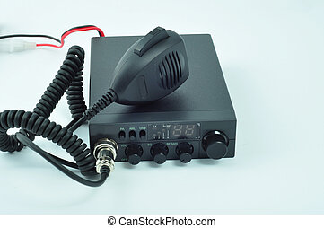 talking the CB radio - by cb radio we can talk with the...