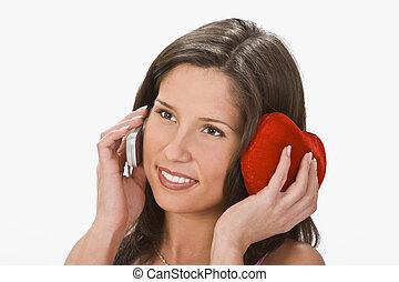 Talking to my sweetheart