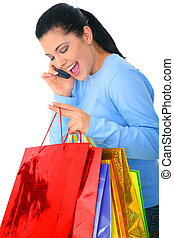 Talking While Shopping