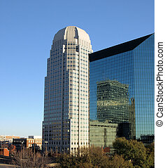 Tall buildings - Two tall building in Winston-Salem North...