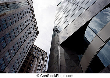Tall Buildings - Tall skyscrapers in Singapore\'s business...