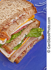 Tall Club Sandwich