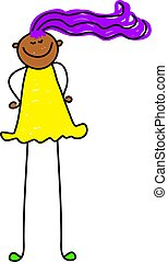 tall kid - happy ethnic child who is growing quite fast -...
