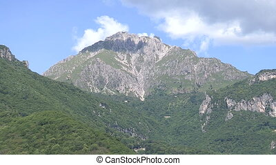 Tall mountain in northern Italy