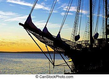 Tall Ship Bow
