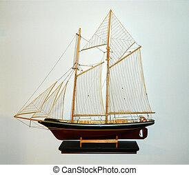 Tall Ship Sailboat - A two mast sailboat