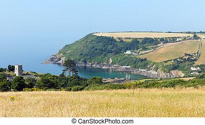 Talland Bay Cornwall England