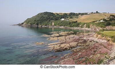 Talland Bay near Looe and Polperro - Talland Bay between...