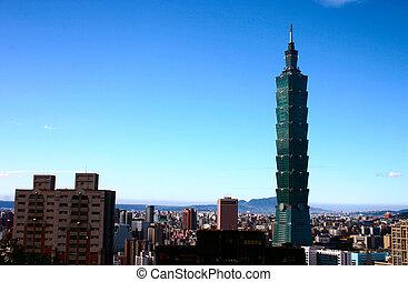 Taipei 101 Talest Building in the World. Location: Taipei, Taiwan
