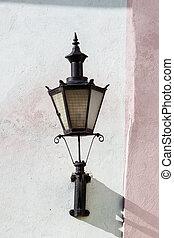 tallin, cidade velha, estónia, lanterna
