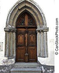 tallin, rua, porta