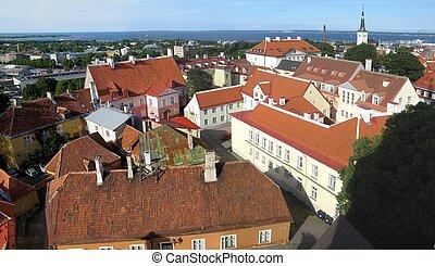 Tallinn aerial