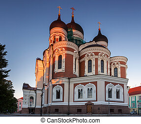 Tallinn cathedral - Alexander Nevsky Cathedral, a Russian...