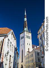 tallinn, estónia, igreja