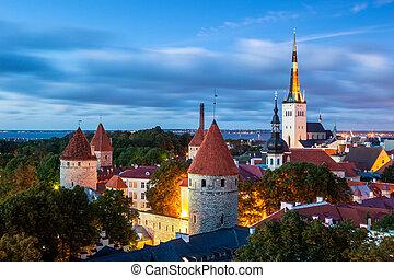 Tallinn, Estonia - Tallinnis the capital of Estonia....