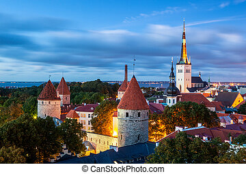 Tallinn, Estonia - Tallinnis the capital of Estonia....