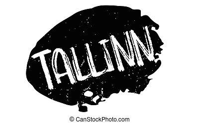 tallinn, kauczukowa pieczęć