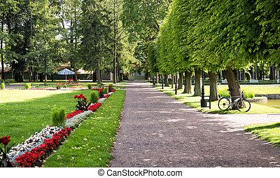 tallinn, parque, estónia, kadriorg