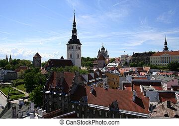 Tallinn - capital of Estonia