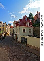 Tallinn streets - The city streets of Tallinn