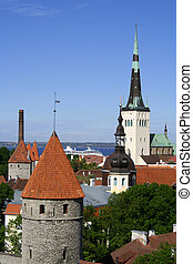 Tallinn - Talinn - capital of Estonia.