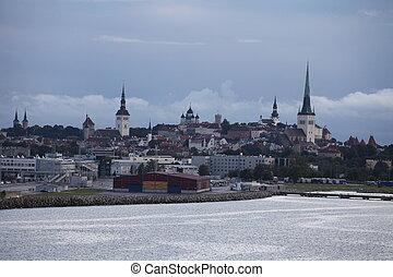 Tallinn view from the sea