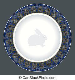 tallrik, middag, design