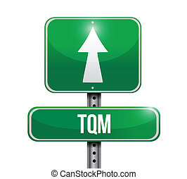 tam street sign illustration design