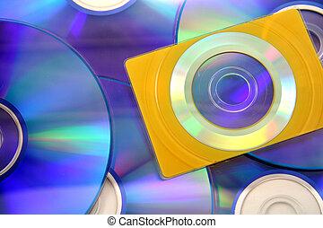 tamaño, tarjeta comercial, cd