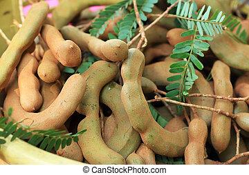 Tamarind in the market