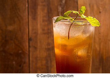 Tamarind juice - Delicious sweet drink tamarind and ice with...