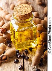 Tamarind Seed Oil, Ayurvedic Oil & Cosmetic Oils closeup and...