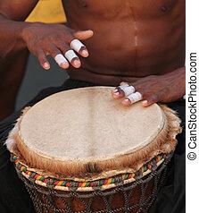 tambores de bongó