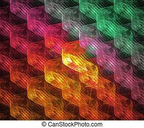 tamborile, abstratos, ilustração, luminoso, fundo, geomã©´ricas, fractal