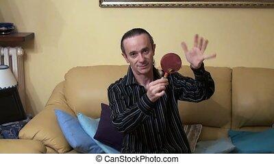 tambourines - musician with the tambourine