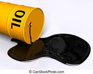 tamburo petrolio