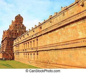 tamil, oder, thiruvarangam, ranganathaswamy, sri, tempel,...
