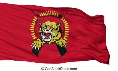 Tamil Tigers Flag Isolated Seamless Loop - Tamil Tigers...
