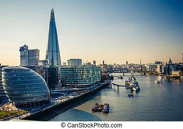 tamiza, londyn, miasto