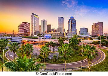 tampa, 佛羅里達, 地平線