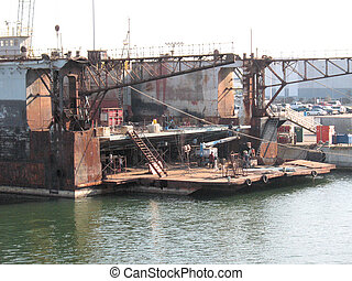 tampa, 船塢, 區域