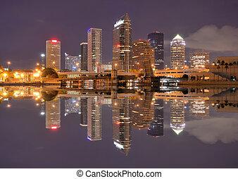 Skyline of downtown Tampa, Florida