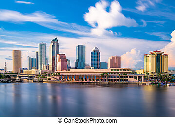 Tampa Florida Skyline