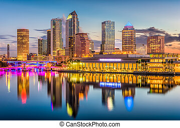 Tampa, Florida, USA Skyline
