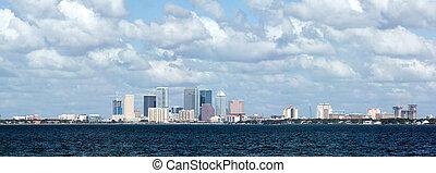 Tampa Skyline Bay View