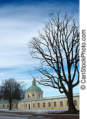Tample in orienbaum park - Old tample in orienbaum park. ...