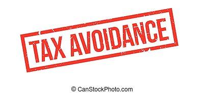 tampon, action éviter, impôt