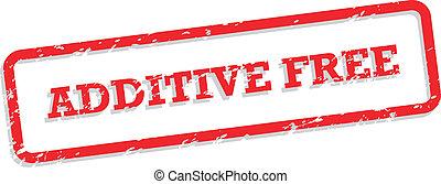 tampon, additif, gratuite