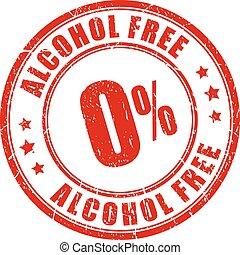 tampon, alcool, gratuite